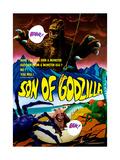 Son of Godzilla, (AKA Kaijuto No Kessen: Gojira No), 1967 Giclee Print