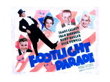 Footlight Parade, Dick Powell, Ruby Keeler, James Cagney, Joan Blondell, 1933 Giclée-tryk