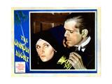 The Unholy Night, from Left: Dorothy Sebastian, Boris Karloff, 1929 Giclee Print