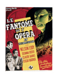Phantom of the Opera, (AKA Le Fantome De L'Opera), 1943 Giclee Print