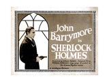 Sherlock Holmes, John Barrymore, 1922 Giclee Print
