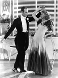 The Gay Divorcee, from Left, Fred Astaire, Ginger Rogers, in 'The Continental' Number, 1934 Photo