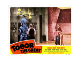 Tobor the Great, Taylor Holmes (Back to Picture), Charles Drake, Billy Chapin 1954 Giclee Print