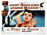 A Star Is Born, Center: Judy Garland on Poster Art, 1954 Giclee Print