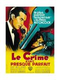Dial M for Murder, (AKA Le Crime Etait Presque Parfait), 1954 Giclee Print