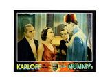 The Mummy, from Left: Edward Van Sloan, Zita Johann, David Manners, Boris Karloff, 1932 Giclee Print