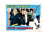 Spite Marriage, from Left: Sydney Jarvis, Buster Keaton, 1929 Giclee Print