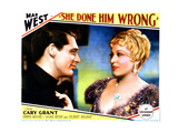 She Done Him Wrong, from Left, Cary Grant, Mae West, 1933 Giclee Print