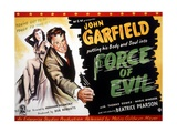 Force of Evil, from Left: Marie Windsor, John Garfield, 1948 Giclee Print