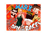 A Day at the Races, the Marx Brothers, Esther Muir, 1937 Giclee Print
