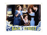 Back Street, from Left, Zasu Pitts, Irene Dunne, John Boles, 1932 Giclee Print