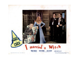 I Married a Witch, from Left, Cecil Kellaway, Veronica Lake, Robert Benchley, Fredric March, 1942 Giclee Print