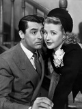 Arsenic and Old Lace, from Left: Cary Grant, Priscilla Lane, 1944 Photo