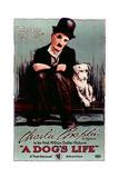 A Dog's Life, Charlie Chaplin, 1918 Giclee Print