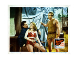 Nightmare Alley, Tyrone Power, Coleen Gray, Mike Mazurki, 1947 Giclee Print