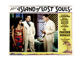 Island of Lost Souls, from Left, Kathleen Burke, Charles Laughton, Richard Arlen, 1932 Giclee Print