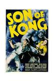 The Son of Kong, Poster, from Left: Robert Armstrong, Helen Mack, 1933 Giclee Print