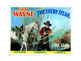 The Lucky Texan, John Wayne, 1934 Giclee Print