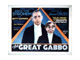 The Great Gabbo, Erich Von Stroheim, 1929 Giclee Print