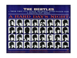 A Hard Day's Night, British Poster, (Top to Bottom), 1964 Giclee Print