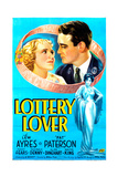 The Lottery Lover, from Left, Pat Paterson, Lew Ayres, Peggy Fears, 1935 Giclee Print