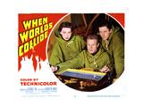 When Worlds Collide, Barbara Rush, Richard Derr, Peter Hanson, 1951 Giclee Print