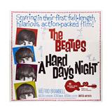 A Hard Day's Night, the Beatles, Paul Mccartney, John Lennon, George Harrison, Ringo Starr, 1964 Giclee-trykk