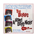 A Hard Day's Night, the Beatles, Paul Mccartney, John Lennon, George Harrison, Ringo Starr, 1964 Giclée-Druck