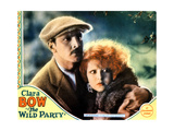 The Wild Party, from Left, Fredric March, Clara Bow, 1929 Giclee Print