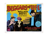 Beggars of Life, from Left: Richard Arlen, Louise Brooks, Wallace Beery, 1928 Giclee Print