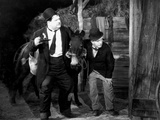 Way Out West, Oliver Hardy, Stan Laurel [Laurel and Hardy], 1937 Photo