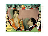 Gentlemen Prefer Blondes, Ruth Taylor, Holmes Herbert, 1928 Lámina giclée