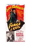 Force of Evil, John Garfield, Beatrice Pearson, 1948 Giclee Print