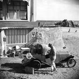 Mr. Hulot's Holiday, (AKA Les Vacances De Monsieur Hulot), Jacques Tati, 1953 Photo