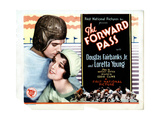 The Forward Pass, from Left, Douglas Fairbanks, Jr., Loretta Young, 1929 Giclee Print
