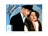 The Divorcee, from Left, Conrad Nagel, Norma Shearer, 1930 Giclee Print
