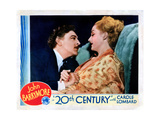 Twentieth Century, from Left, John Barrymore, Carole Lombard, 1934 Giclee Print