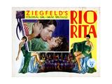 Rio Rita, from Top, Inset, John Boles, Bebe Daniels, 1929 Giclee Print
