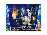 Bride of Frankenstein, Boris Karloff, Colin Clive, Ernest Thesiger, 1935 Giclee Print