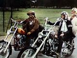 Easy Rider, from Left: Dennis Hopper, Peter Fonda, Jack Nicholson, 1969 Photographie