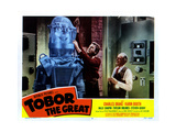 Tobor the Great, Charles Drake, Taylor Holmes 1954 Giclee Print