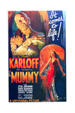 The Mummy, One Sheet Poster, 1932 Reproduction procédé giclée