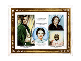 Gone with the Wind, from Left, Thomas Mitchell, Alicia Rhett, Barbara O'Neil, Hattie Mcdaniel, 1939 Giclee Print