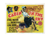Cabin in the Sky, Ethel Waters, from Left, Eddie 'Rochester' Anderson, Lena Horne, 1943 Giclee Print
