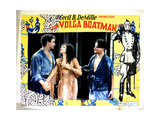 The Volga Boatman, from Left, William Boyd, Elinor Fair, 1926 Giclee Print