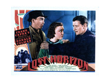 Lost Horizon, from Left, John Howard, Margo, (AKA Margo Albert), Ronald Colman, 1937 Giclee Print
