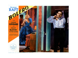 Bolero, from Left, Carole Lombard, George Raft, 1934 Giclee Print