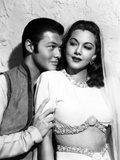Ali Baba and the Forty Thieves, from Left: Turhan Bey, Maria Montez, 1944 Photo