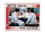 The Letter, from Left, Center, Bette Davis, Herbert Marshall, 1940 Giclee Print