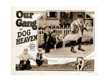Dog Heaven, Joe Cobb (Bottom Left, and Top Right), 1927 Giclee Print